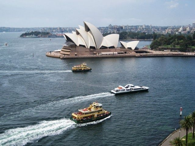 The top 100 places in the world you must visit: 87. Sydney Opera House (Sydney, Australia)