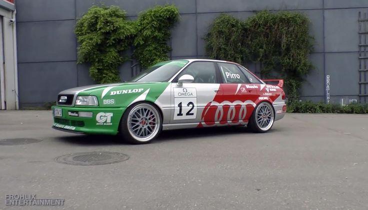 In diesem Audi 80 mit sagenhaften 720 PS steckt nur das Beste!