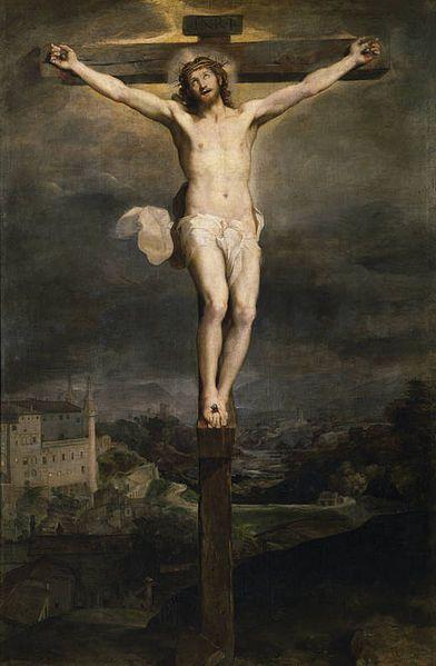 Cristo en la Cruz de Federico Barocci. Museo del Prado, Madrid, España.