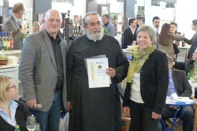 93 PAR Punkte für Mylopotamos Erythros - Merlot  Limnio Regionalwein beim griechischen Weinpreis 2013