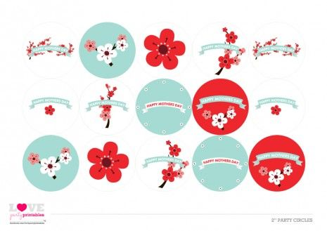 free mothers day_printables 2 party circles