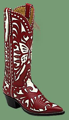 Rocketbuster Boots Valentine Red $1595.