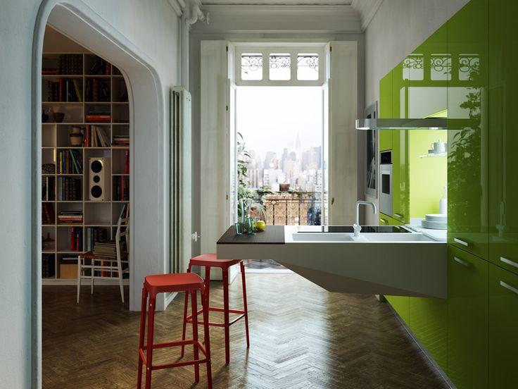 152 besten Einbauküchen Bilder auf Pinterest Freuen, Küchen - kuchengestaltung mit farbe 20 ideen tricks