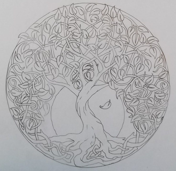 celtic tree of life 4 by ~Tattoo-Design on deviantART