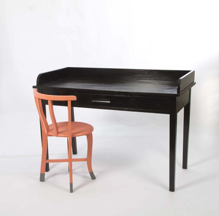Simone Barter FINAL Re-Love Project - Desk & Chair @simonebarter   #feastwatson #relove eBay Auction Starts 24th July 2014 @ 4pm! Visit feastwatson.com.au for details
