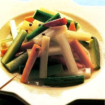 中華風ピクルス | 春山みどりさんのおつまみの料理レシピ | プロの簡単料理レシピはレタスクラブニュース
