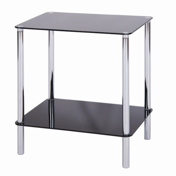 £18.99 45 x 40 cm Value by Wayfair Angla 2 Tier Side Table & Reviews | WF