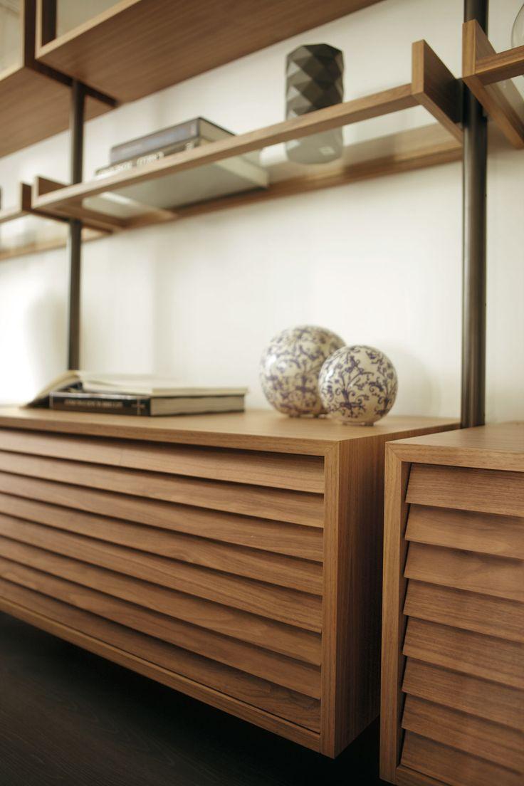 Porada arredi srl en detail living room wall units for Porada arredi