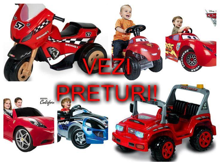 ATV-uri si masinute electrice pentru copii – reduceri