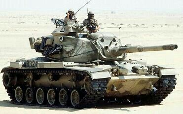 "M60 A1 ""Patton""  MBT"