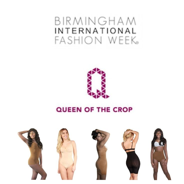We are so excited to participate in Birmingham International Fashion Week this weekend (4th & 5th September) #QueenoftheCrop #QueenoftheCropLife #Covet #covetgirl #BHMFW #fashion #fashionweek #fblogger #success #inspiration #confidence #runway #goodtime #lingerie #shapewear