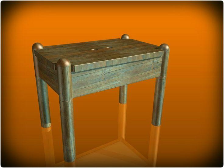 Dřevěná sedadla - KeyCreator, STEP / IGES, Autodesk Inventor - 3D CAD model - GrabCAD