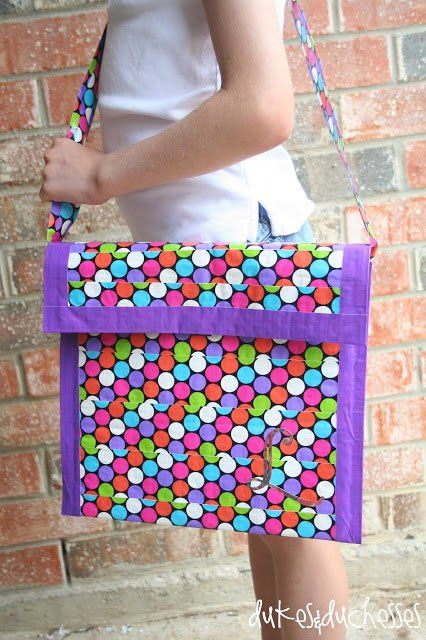 21 Totally Awesome Duct Tape Creations…{how is #8 possible?}