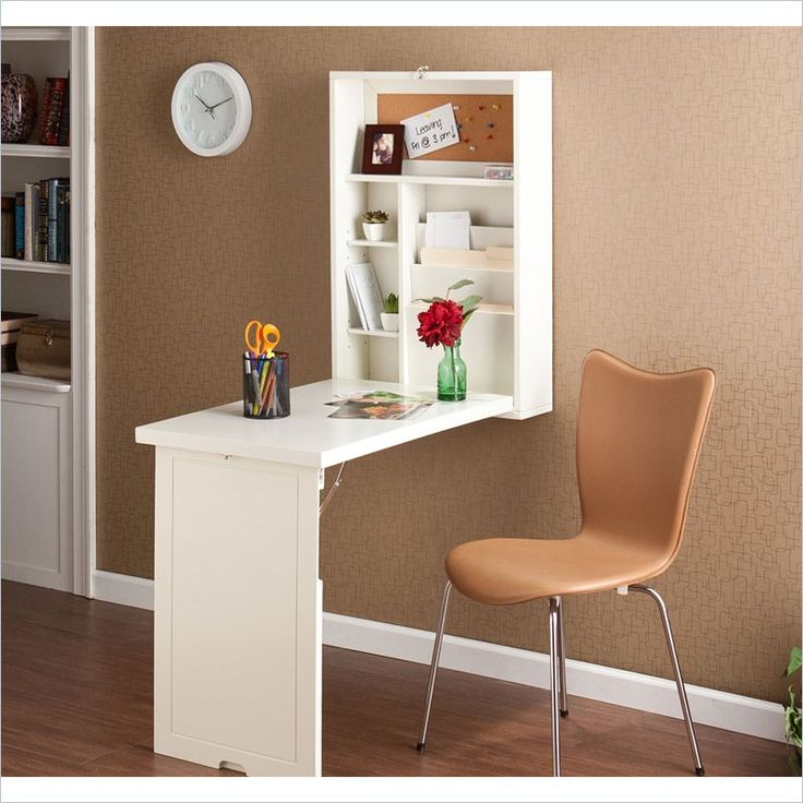 Fold-Out Convertible Desk, perfect homework station or for a small office/craft area for small spaces