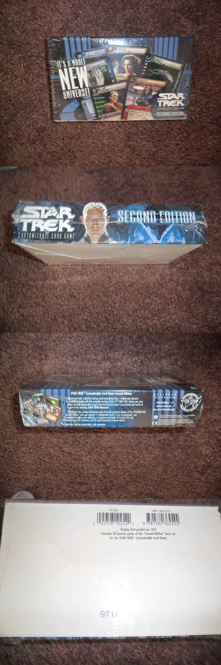 CCG Individual Cards 183454: Star Trek Ccg 2E : It S A Whole New Universe Booster Box Factory Sealed -> BUY IT NOW ONLY: $41.99 on eBay!