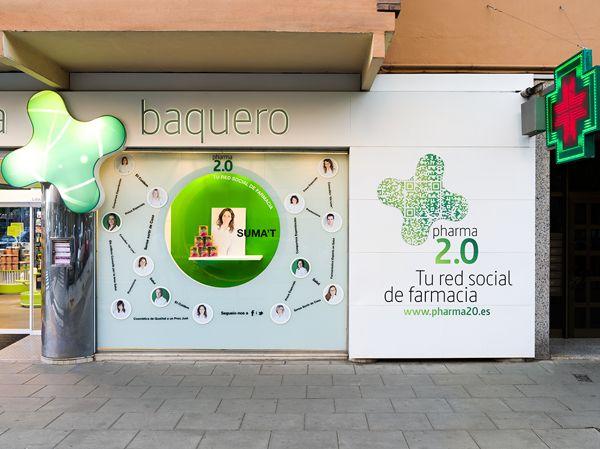 Logo for Pharmaceutical social networking (Spain) on Behance