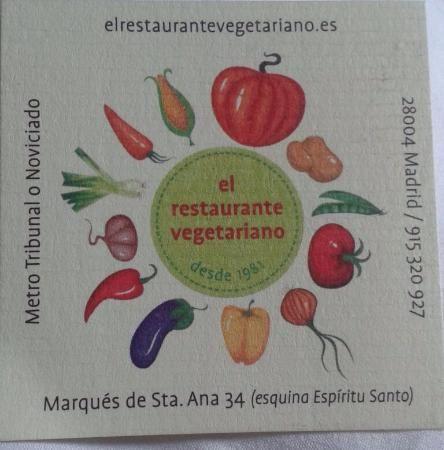 Fotos de El Restaurante Vegetariano, Madrid - Restaurante Imágenes - TripAdvisor