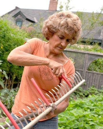 ako si naznačiť riadky na siatie-výsadbu zeleniny....