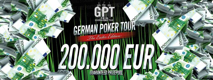 GERMAN POKER TOUR at King's Casino from Apr 16th to 21st.