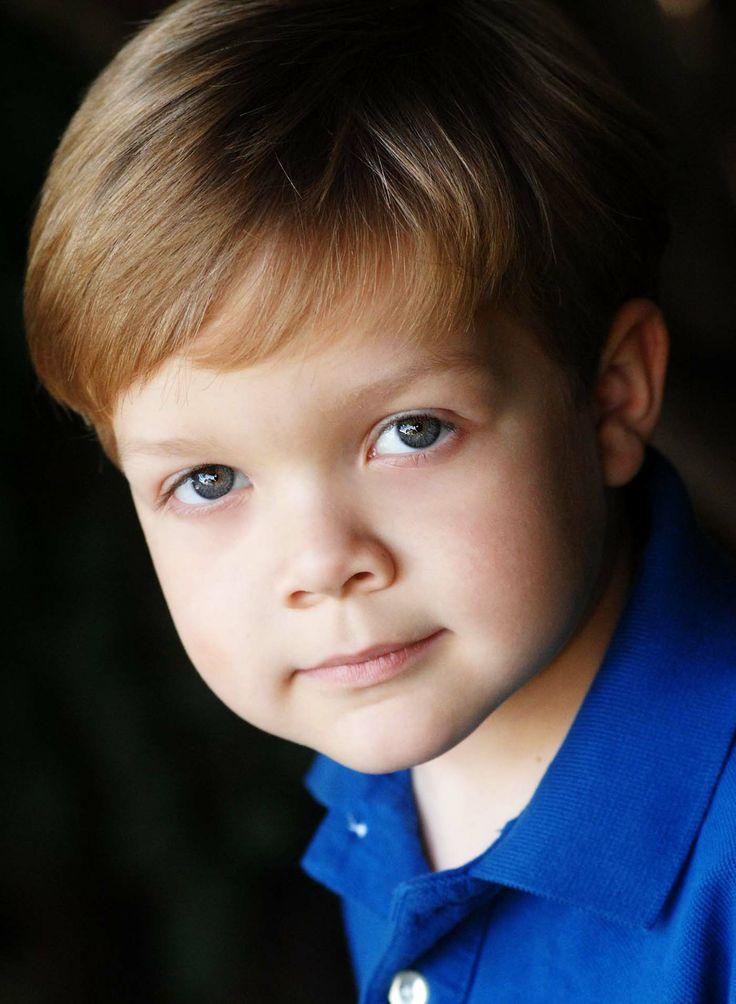 Kids Headshot In Natural Light. Www.davidlaporte.com