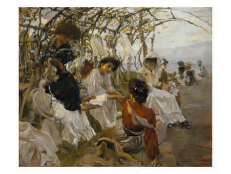 The Reading - Ettore Tito