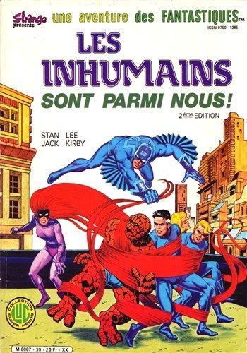 Une aventure des Fantastiques Les Inhumains sont parmi nous! - (2éme édition) est un album de bande dessinée ou comics, édité par les éditions LUG - Comics-France.com
