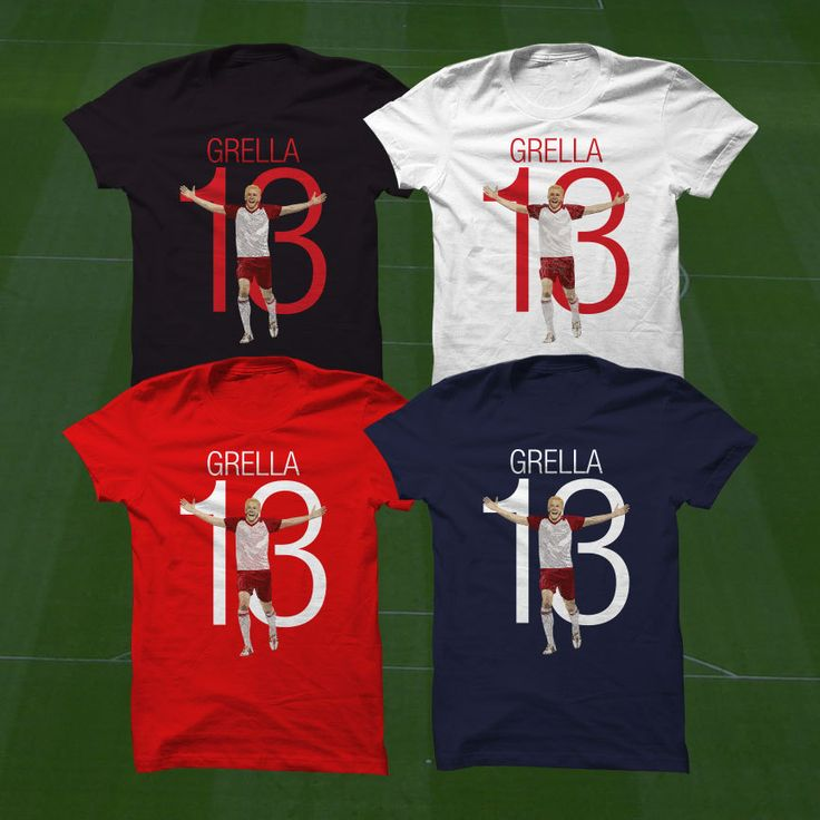 Mike Grella 13 Red Bulls Shirt T-Shirt - New York Soccer Player - Size S to Xxxl -Custom Apparel Football, futbol, soccer, NY Red Bulls by Graphics17 on Etsy