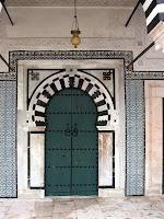 Green door. Tunisia