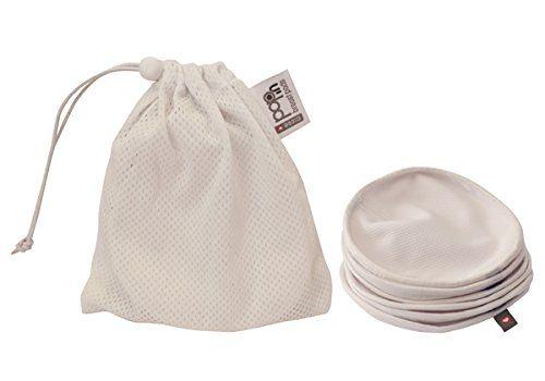 nice Close Parent 5060123255508 - Pack de 6 discos de lactancia lavables