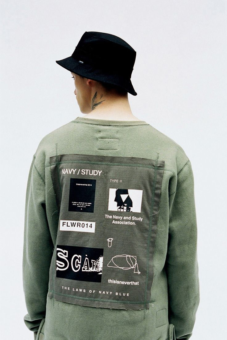 """Image of thisisneverthat 2014 Fall/Winter """"NAVY/STUDY"""" Lookbook"""