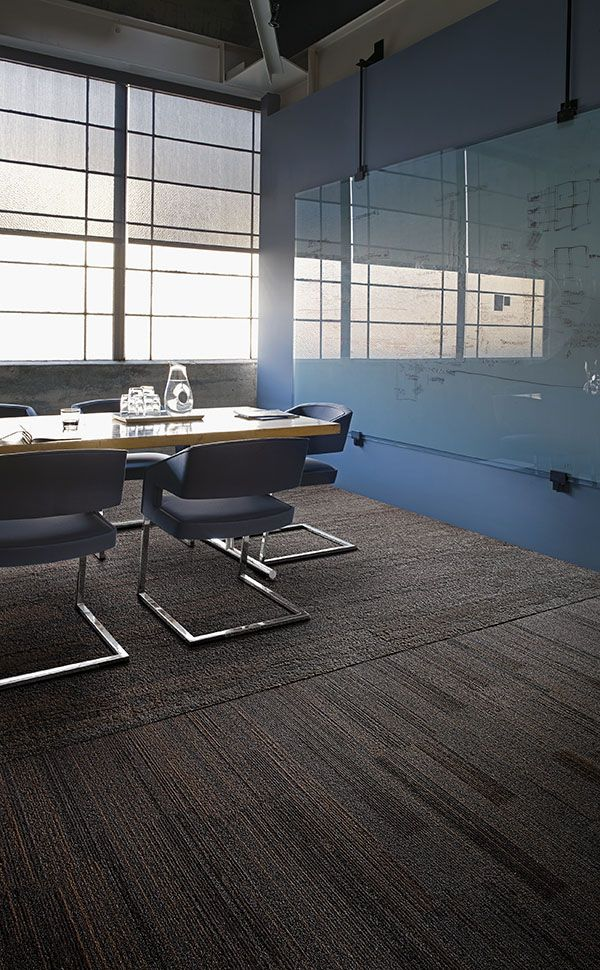 Interface | Modular Carpet Tile | Near & Far | NF400 Walnut | NF401 Walnut