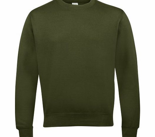 AWDis Just Hoods AWDis Unisex Crew Neck Plain Sweatshirt (280 GSM) (M) (Olive Green) No description (Barcode EAN = 5055805499127). http://www.comparestoreprices.co.uk/womens-sweatshirts/awdis-just-hoods-awdis-unisex-crew-neck-plain-sweatshirt-280-gsm--m--olive-green-.asp