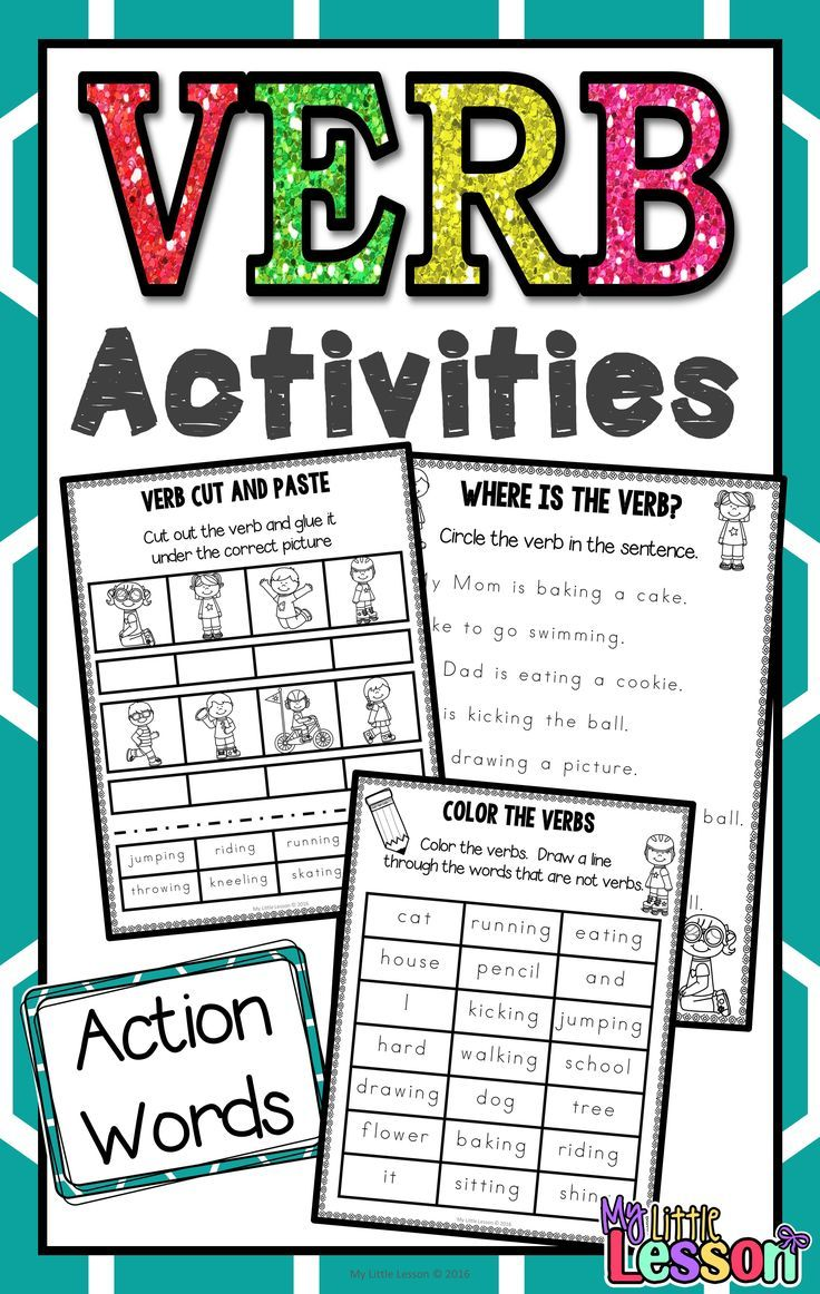 The 25+ best Verb worksheets ideas on Pinterest | Nouns and verbs ...