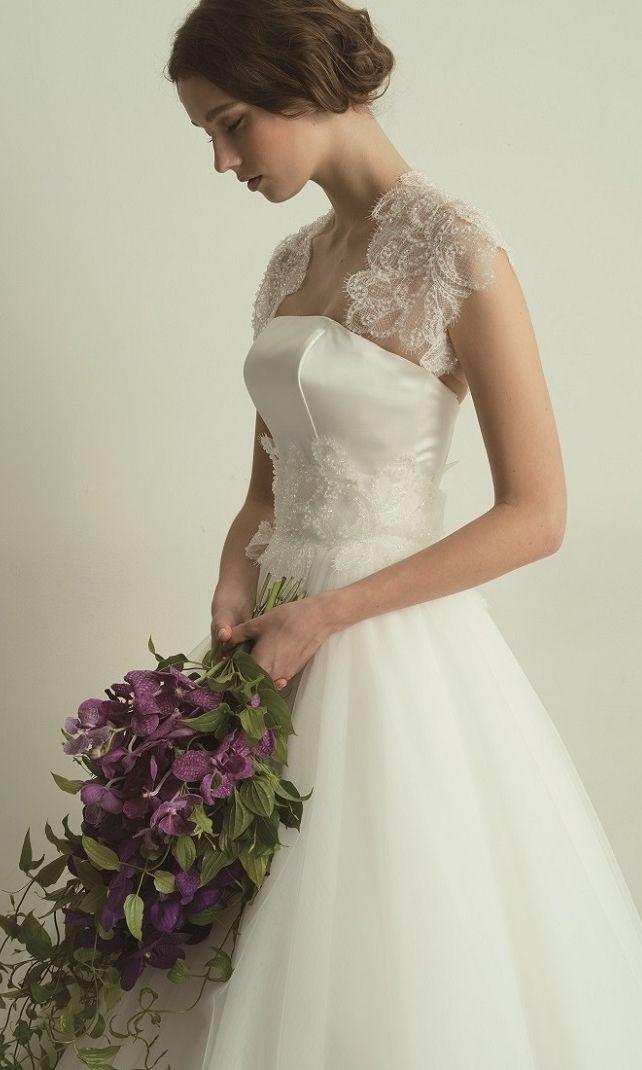 日本の花嫁さんに似合う、インポートドレスを追求したブランド*〔グランマニエ〕が素敵すぎ♡にて紹介している画像