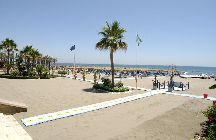 Torremolinos seafront on the Costa del Sol.