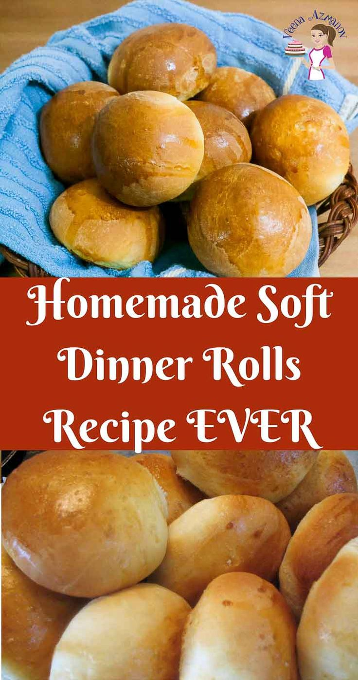 These homemade soft dinner rolls are the best thing to have with any meal or make a sandwich for a quick snack. The simple, easy and effortless recipe using regular all purpose flour, sugar, butter and instant yeast makes the softest buns with a tender crumb that can be an addiction.