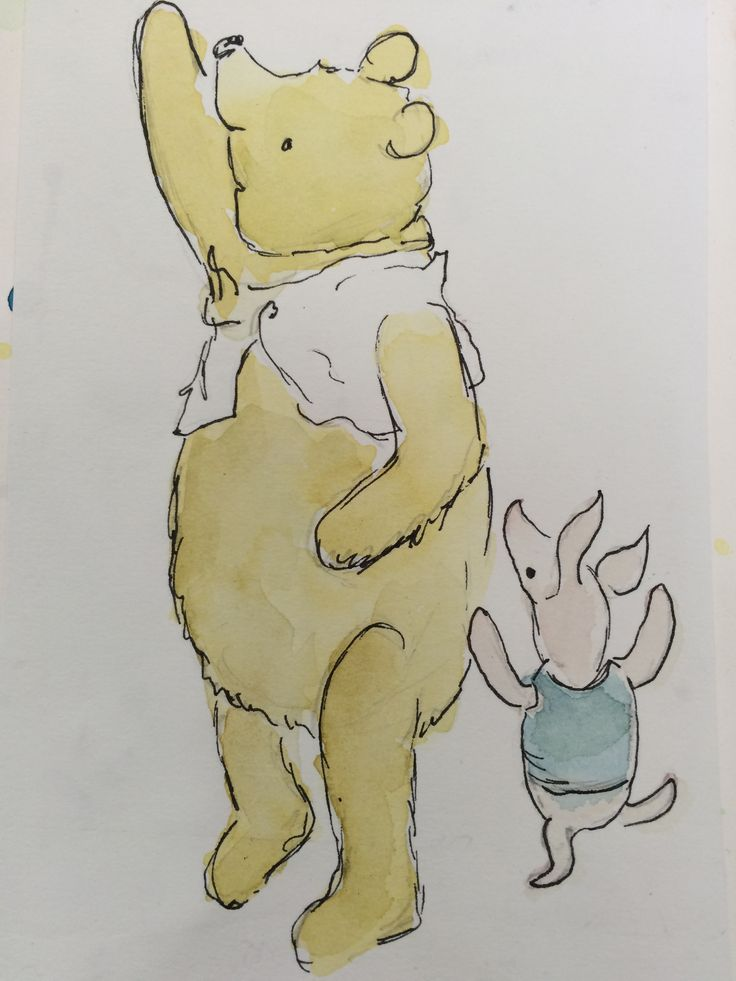 Winnie the Pooh and piglet!
