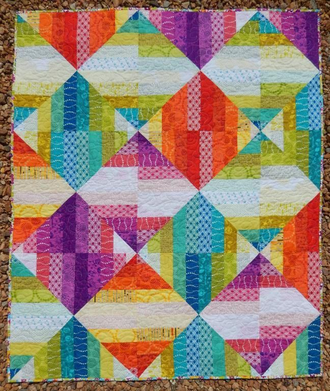 (7) Name: 'Quilting : Sorbet Quilt