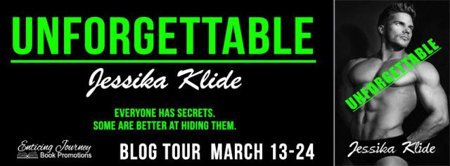 Tour For Unforgettable by Jessika Klide  Title: Unforgettable  Series: The Finale Book 5 in Siris Saga  Author: Jessika Klide  Genre: Erotic Romance  Published: March 10 2017  Unforgettable The Finale Book 5 in Siris Saga.  Maximus Aurelius Moore and Siri Wright arrive in Vegas to combine their complicated lives and to give the Alabama crew a bachelor party they will never forget but before Siris last performance as Seary the dark side of Sin City claims her.  What happens next is…