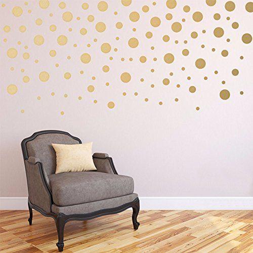 die besten 25 goldene punkte wand ideen auf pinterest tupfen zimmer goldpunkte und tupfen w nde. Black Bedroom Furniture Sets. Home Design Ideas