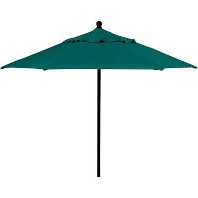 Tropitone Portofino 7.5' Market Umbrella Fabric: Taylor, Frame Finish: Greco, Opening Mechanism: Manual