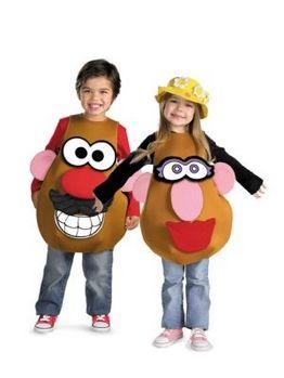 Deluxe Mr Or Mrs Potato Head Childs Costume