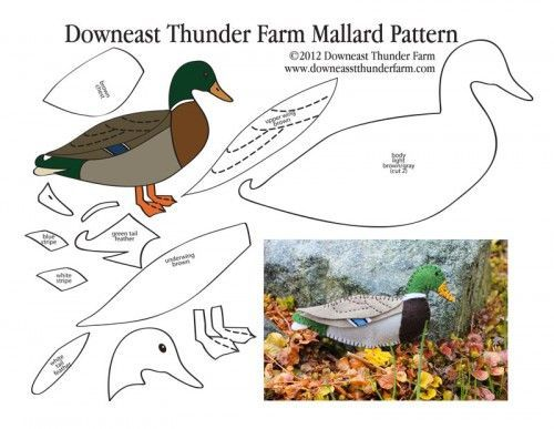 mallard-pattern-pic, Stuffed Animal Pattern, How to Make a Toy Animal Plushie Tutorial , BIRDS Diy Projects, Sewing Template , animals,  toy, sewing, diy , crafts, kawaii, cute, sew, bird,felt,  handmade, ornament, free pdf