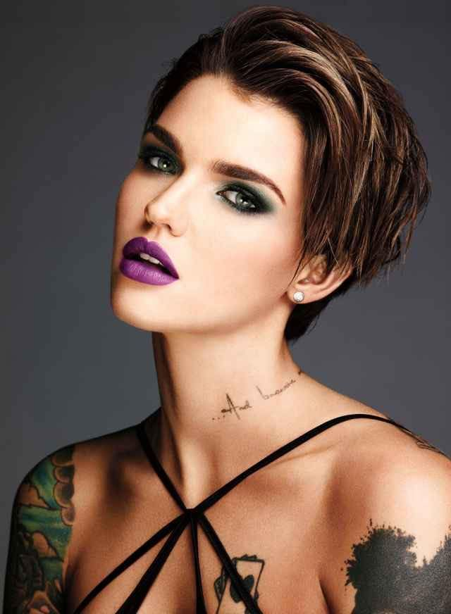 Admirable 1000 Ideas About Ruby Rose Hair On Pinterest Ruby Rose Rose Hairstyle Inspiration Daily Dogsangcom