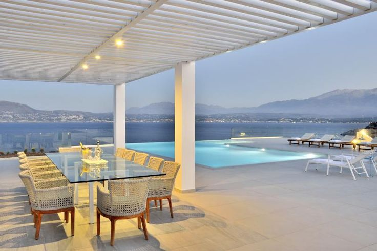 Luxury VIP Villa Imperial to rent in Chania, Crete island. Imperial Villa is a brand new villa that sets very high standards of luxury. Villa Imperial is a truly stunning 6-bedroom property in the most exclusive location on the island. Overlooking