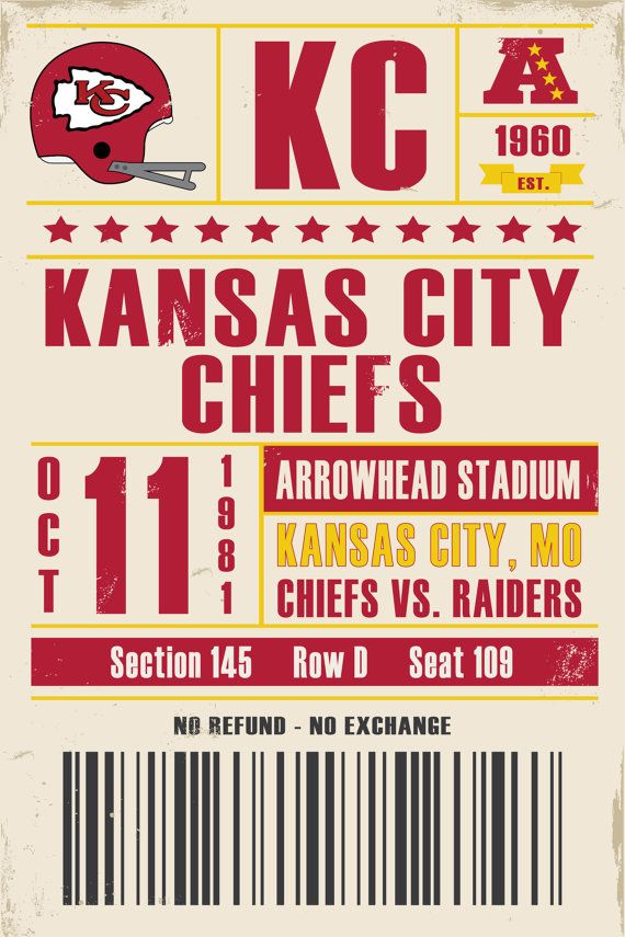 Best 25 Chiefs Tickets Ideas On Pinterest Nfl Chiefs