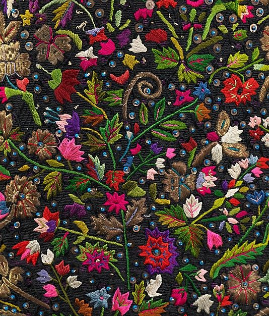 Date:fourth quarter 19th century Culture:Hungarian Medium:silk, metal, linen, glass