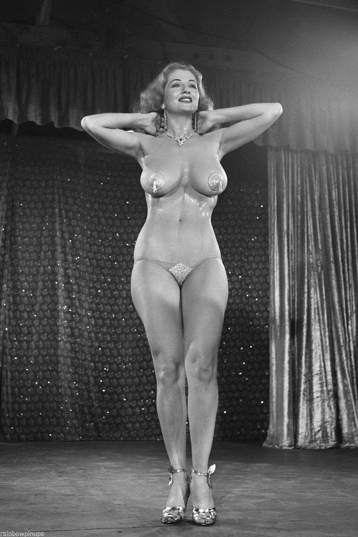 Vintage showgirls nude older