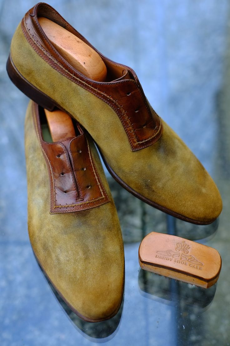 """Tundra Suede"" by Dandy Shoe Care"