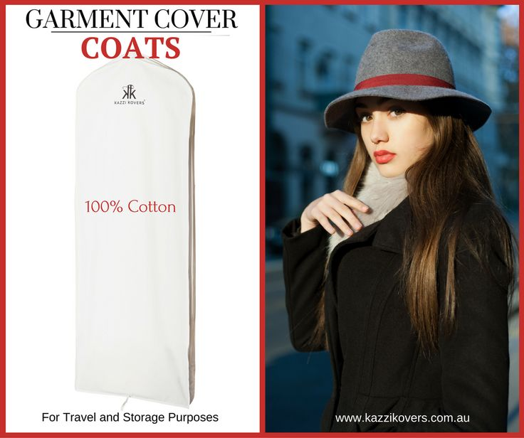 Garment Cover for all Long Coats. For wool, leather, suede, polyester and more.